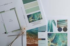 Plattegrond in kleur